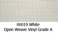 Vinyl fabric 00019 white