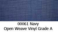 Vinyl fabric 00061 navy