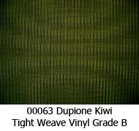 Vinyl fabric 00063 dupione kiwi