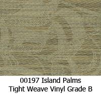 Vinyl fabric 00197 island palms