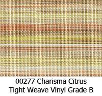 Vinyl fabric 00277 charisma citrus
