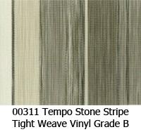Vinyl fabric 00311 tempo stone stripe