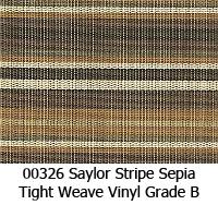 Vinyl fabric 00326 saylor stripe sepia