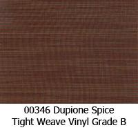 Vinyl fabric 00346 dupione spice