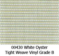 Vinyl fabric 00430 white oyster