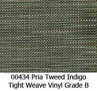 Vinyl fabric 00434 pria tweed indigo