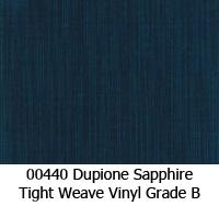 Vinyl fabric 00440 dupione sapphire