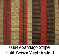 Vinyl fabric 00849 santiago stripe