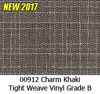 Vinyl fabric 00912 charm khaki