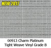 Vinyl fabric 00913 charm platinum