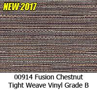 Vinyl fabric 00914 fusion chestnut