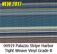 Vinyl fabric 00919 palazzo stripe harbor