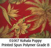 Polymer fabric 01007 kohala poppy