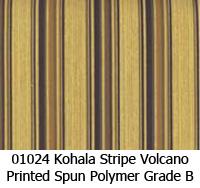 Polymer fabric 01024 kohala stripe volcano