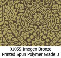 Polymer fabric 01055 imogen bronze