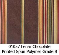 Polymer fabric 01057 lenar chocolate