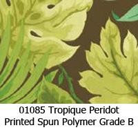 Polymer fabric 01085 tropique peridot