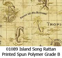 Polymer fabric 01089 island song rattan