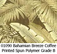 Polymer fabric 01090 bahamian breeze coffee