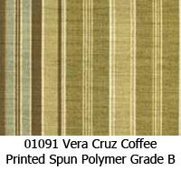 Polymer fabric 01091 vera cruz coffee