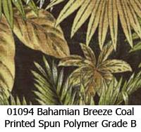 Polymer fabric 01094 bahamian breeze coal