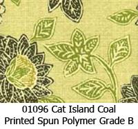 Polymer fabric 01096 cat island coal