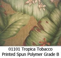 Polymer fabric 01101 tropica tobacco