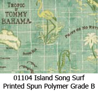 Polymer fabric 01104 island song surf