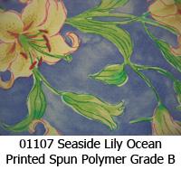 Polymer fabric 01107 seaside lily ocean