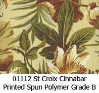 Polymer fabric 01112 st croix cinnabar