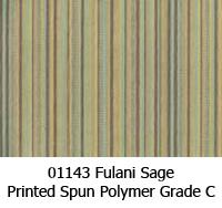 Polymer fabric 01143 fulani sage