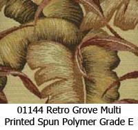 Polymer fabric 01144 retro grove multi