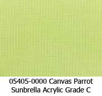 Sunbrella fabric 05405 canvas parrot