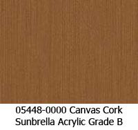 Sunbrella fabric 05448 canvas cork
