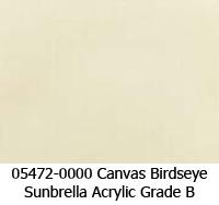 Sunbrella fabric 05472 canvas birdseye