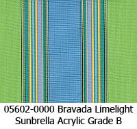 Sunbrella fabric 05602 bravada limeliight