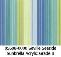 Sunbrella fabric 05608 seville seaside
