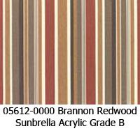 Sunbrella fabric 05612 brannon redwood