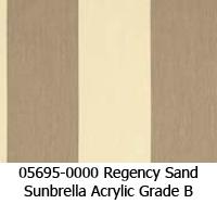 Sunbrella fabric 05695 regency sand