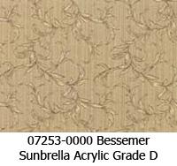 Sunbrella fabric 07253 bessemer