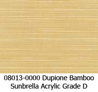 Sunbrella fabric 08013 dupione bamboo