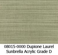 Sunbrella fabric 08015 dupione laurel