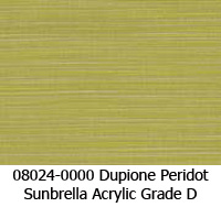Sunbrella fabric 08024 dupione peridot