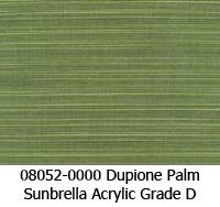 Sunbrella fabric 08052 dupione palm