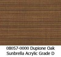 Sunbrella fabric 08057 dupione oak