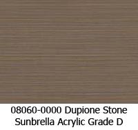 Sunbrella fabric 08060 dupione stone