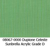 Sunbrella fabric 08067 dupione celeste