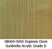 Sunbrella fabric 08069 dupione dove