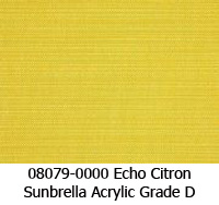 Sunbrella fabric 08079 echo citron