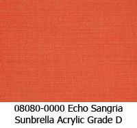 Sunbrella fabric 08080 echo sangria
